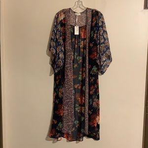 New long Boho kimono
